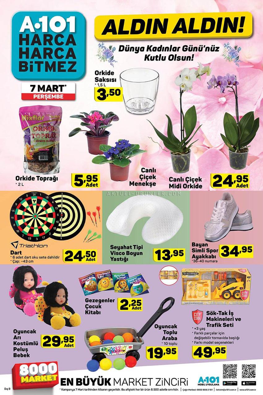 A101 8 Mart Dünya Kadınlar Günü – 7 Mart Aktüel Ürünler