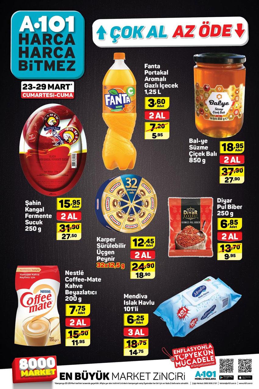 A101 23 Mart Hafta Sonu Aktüel Ürün Katalogları