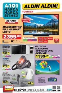 A101 28 Mart 2019 Aktüel Ürünler Kataloğu