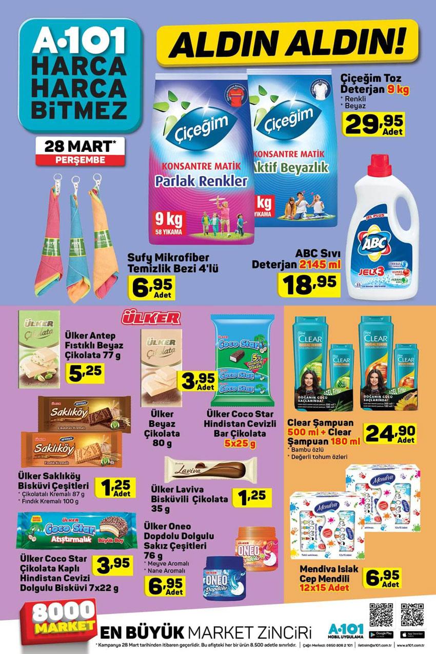 A101 28 Mart Temizlik Ürünleri Aktüel İncelemesi