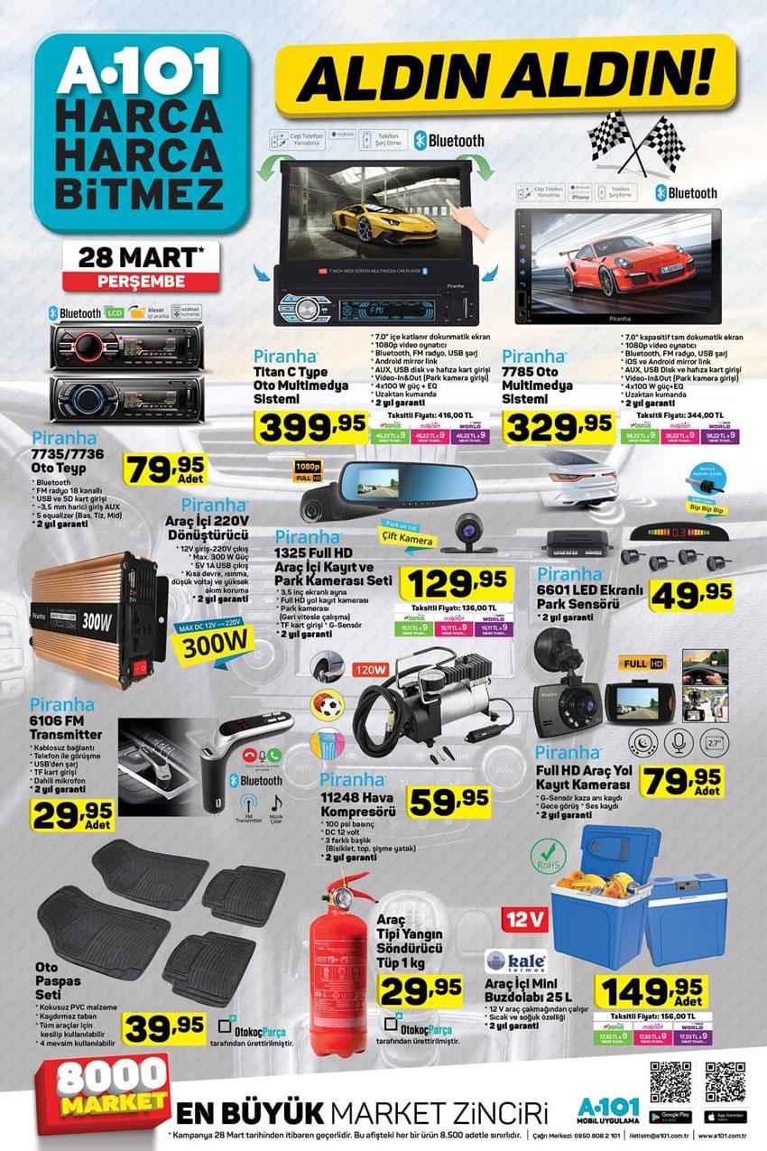 A101 Aktüel 28 Mart Otomobil Aktüel Ürün Sayfası