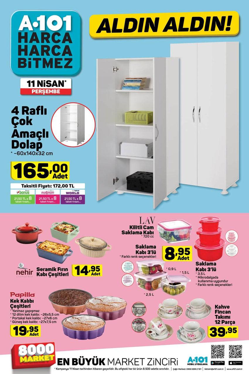 A101 Aktüel Mutfak Ürünleri Yeni İndirim Fırsatları