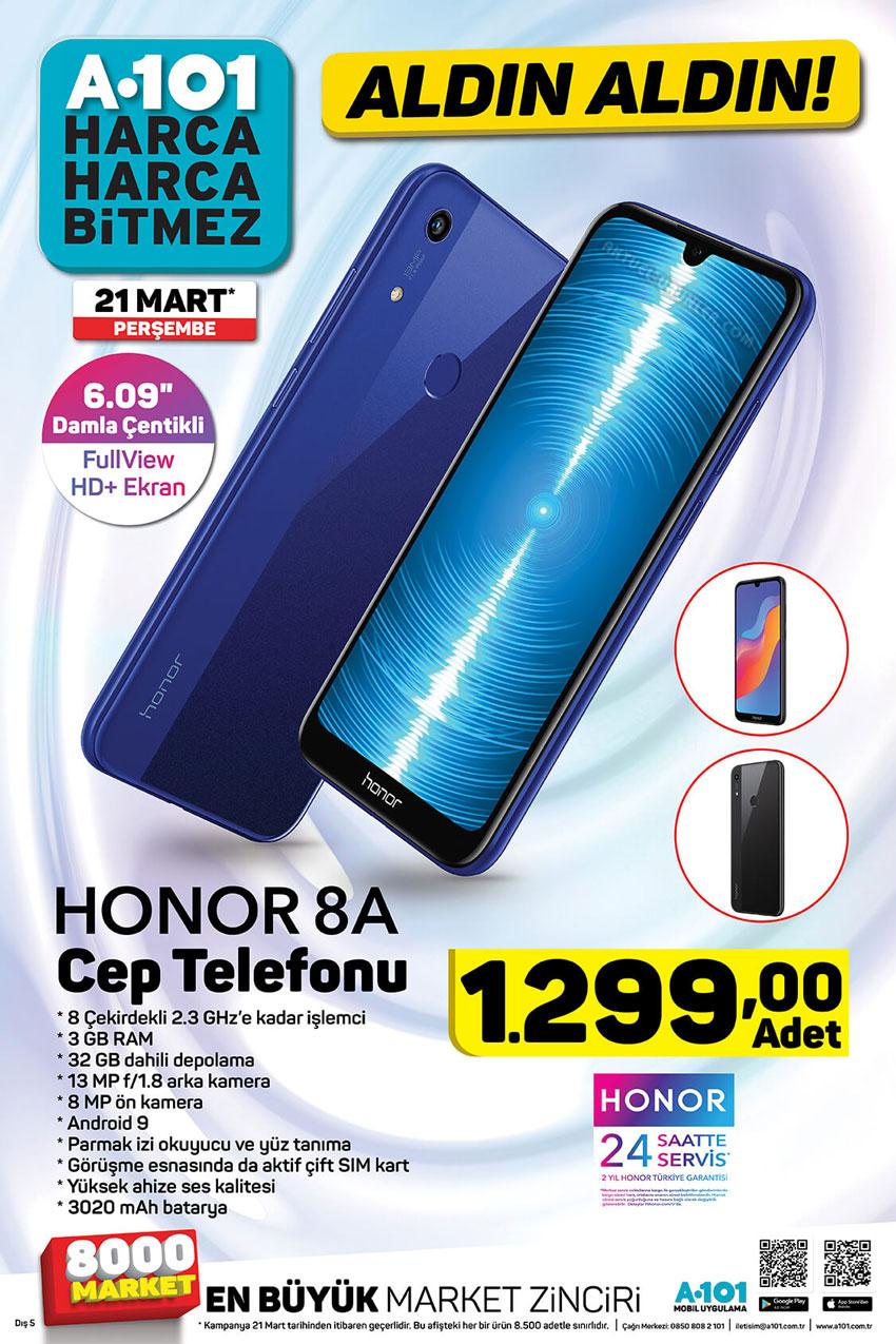 A101 Honor 8A 21 Mart 2019 Aktüel Ürün İncelemesi