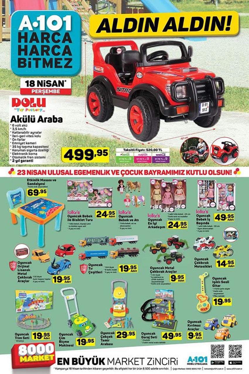 A101 23 Nisan Özel Aktüel Ürünleri Kataloğu