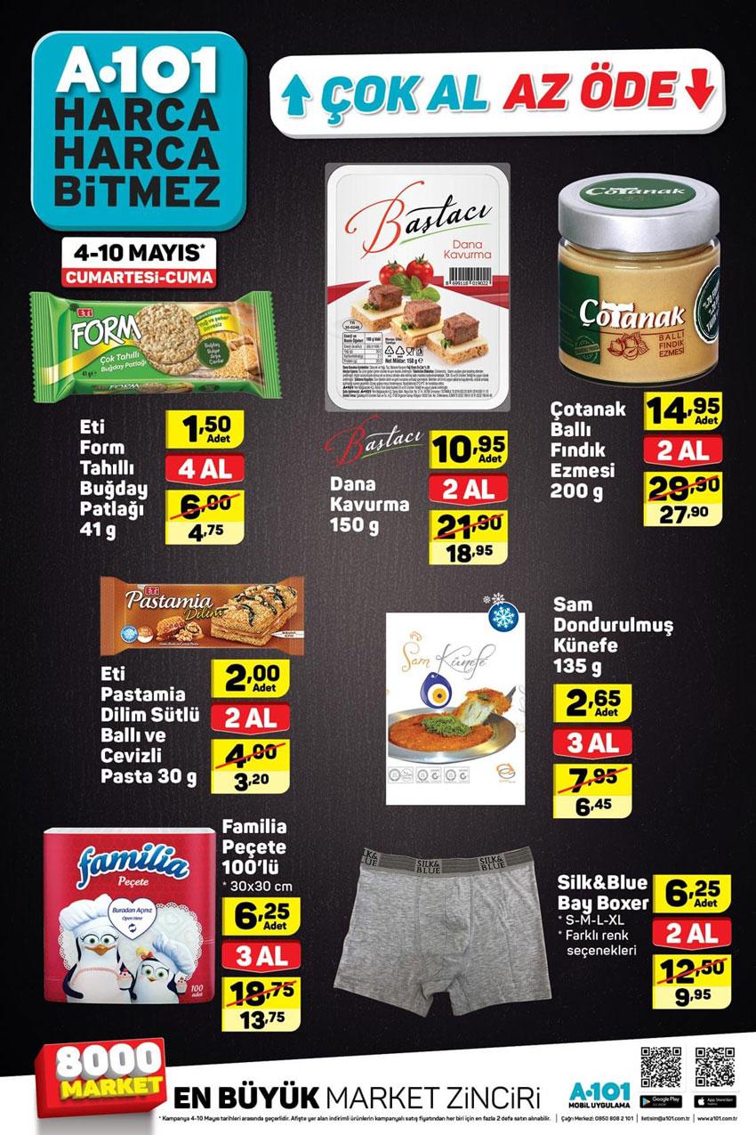 A101 4 Mayıs Hafta Sonu Aktüel Ürün Katalogları