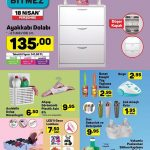 A101 Market 18 Nisan Aktüel Ürün Listesi