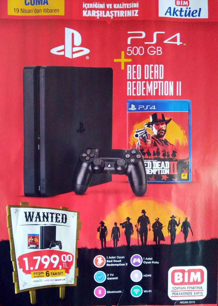 BİM PS4 Sürprizi – 19 Nisan 2019 Kataloğu