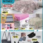 A101 Aktüel'de 13 Haziran Günü Ev Teksili Ürünleri Sayfası
