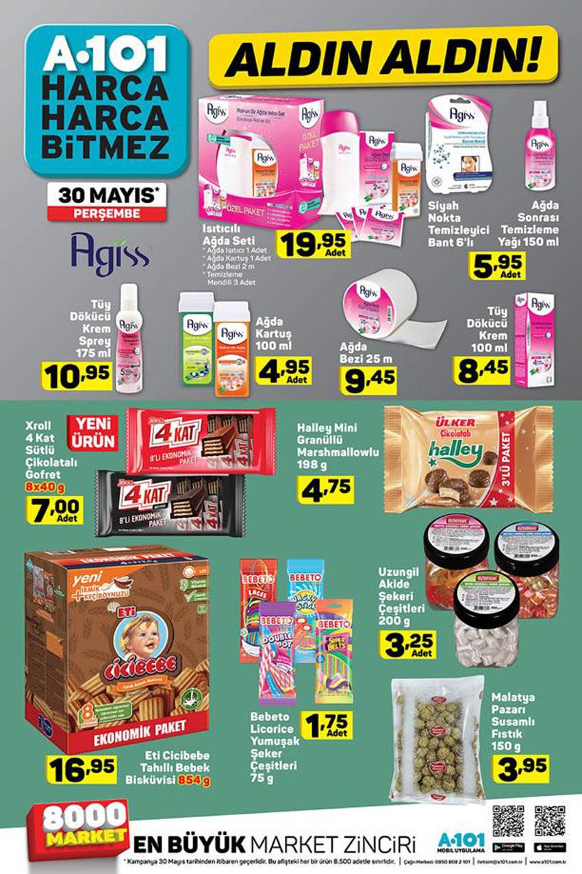 A101 Aldın Aldın Aktüel Ürünleri 30 Mayıs Kampanyaları