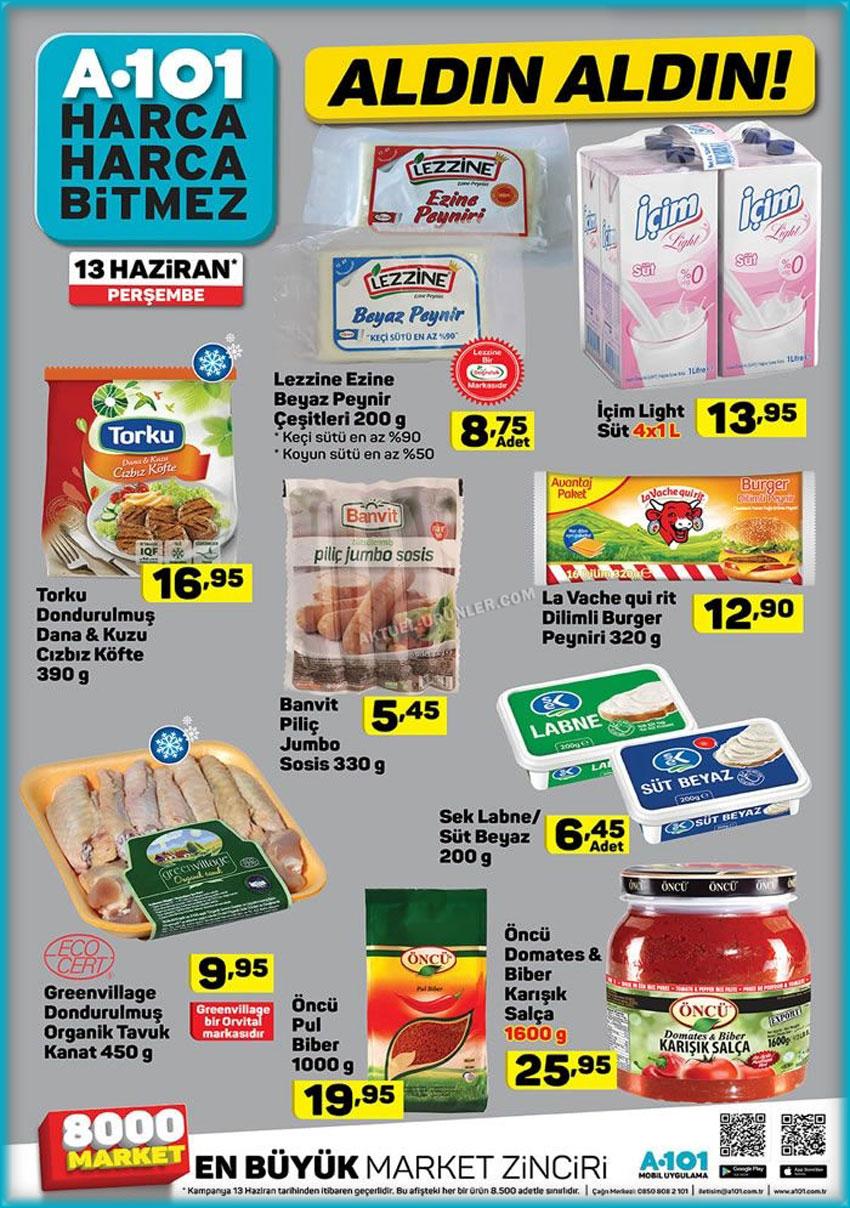 A101 Market 13 Haziran En Farklı Aktüel Detaylar