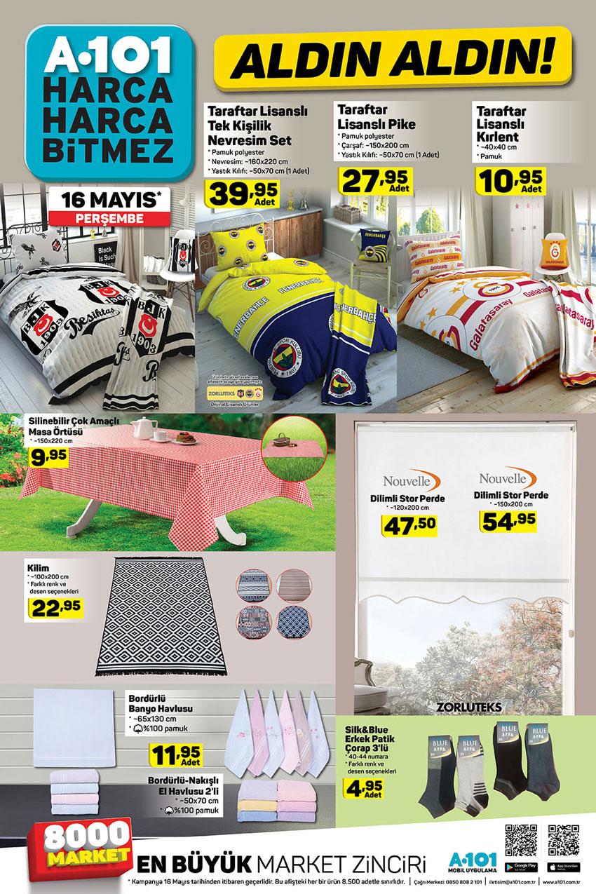 A101 Market 16 Mayıs İndirimleri Aktüel Kataloğu