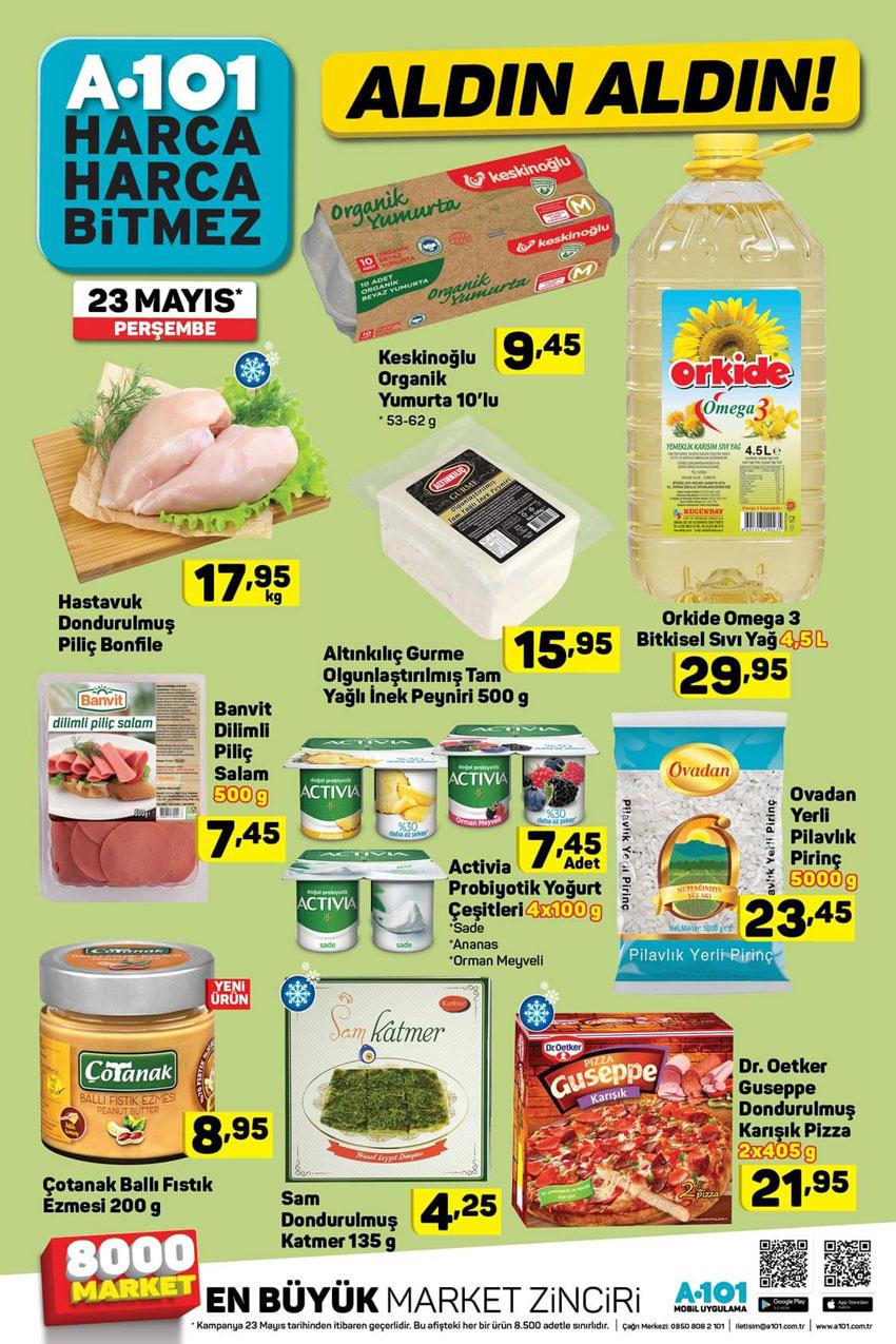 A101 Ramazan Ayı Özel Gıda Spotu 23 Mayıs Sayısı