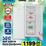Aktüel Ürünler A101 SEG SDF 2451M Derin Dondurucu