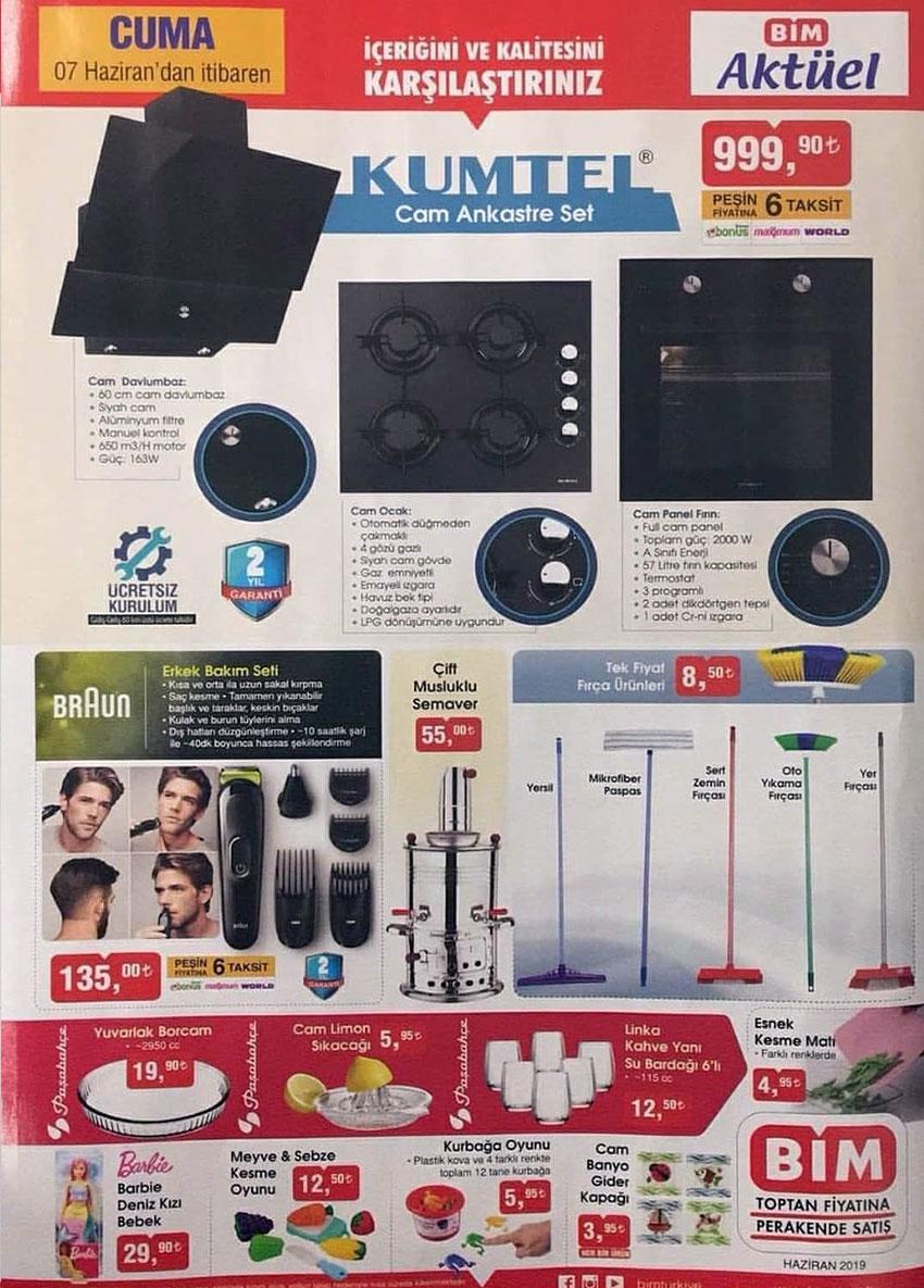 BİM 7 Haziran 2019 Aktüel Ürün Katalogları Görseli 3