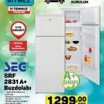 A101 SEG SRF 2831 A+ Buzdolabı Kampanyası - 11 Temmuz