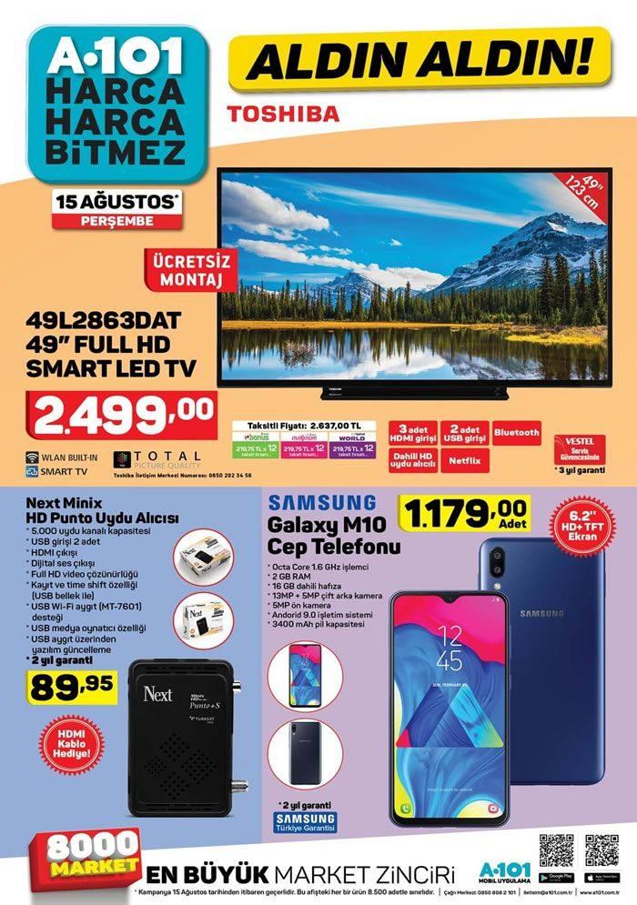 A101 15 Ağustos 2019 Aktüel ürünler Kataloğu Aktuel ürünler