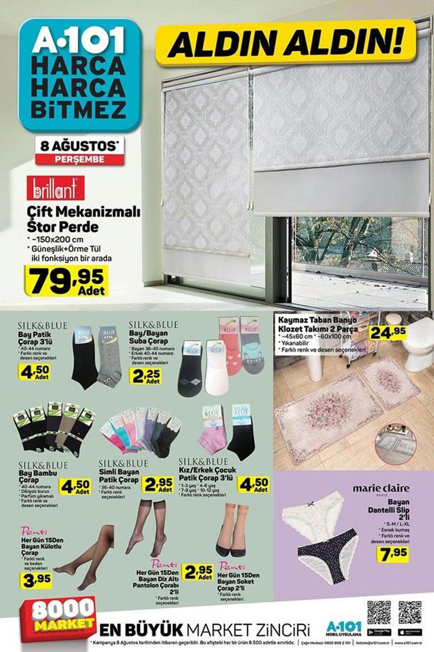 A101 8 Ağustos Beklenen Aktüel Ürünler Kataloğu