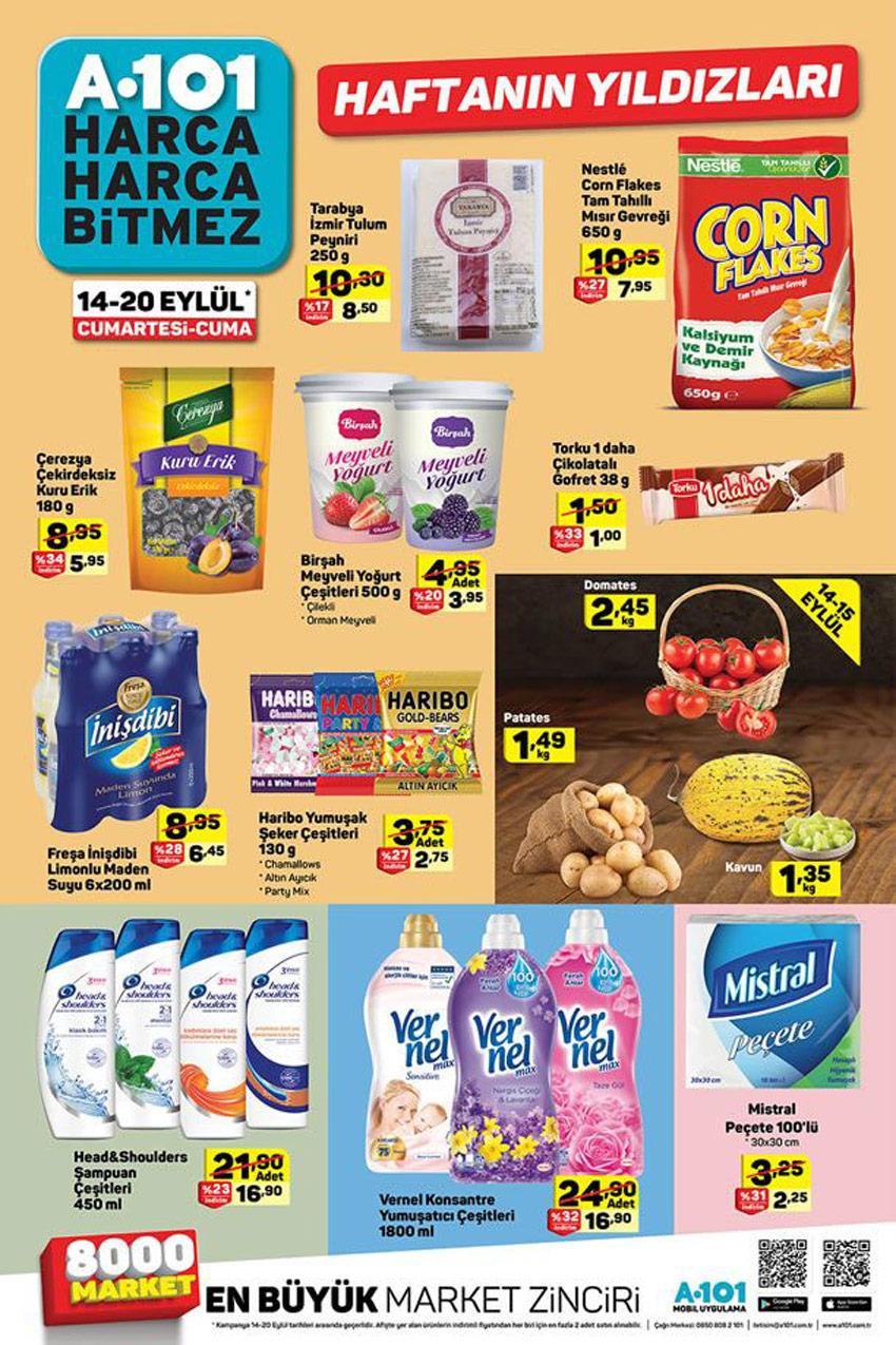 A101 14 Eylül 2019 Aktüel Ürünler Kataloğu
