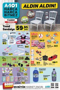 A101'den Mutlu Eden İndirimler Sayfası 7 Kasım Detayı