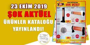 ŞOK 23 Ekim 2019 Aktüel Ürünler Kataloğu