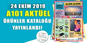 A101 24 Ekim 2019 Aktüel Video Katalog