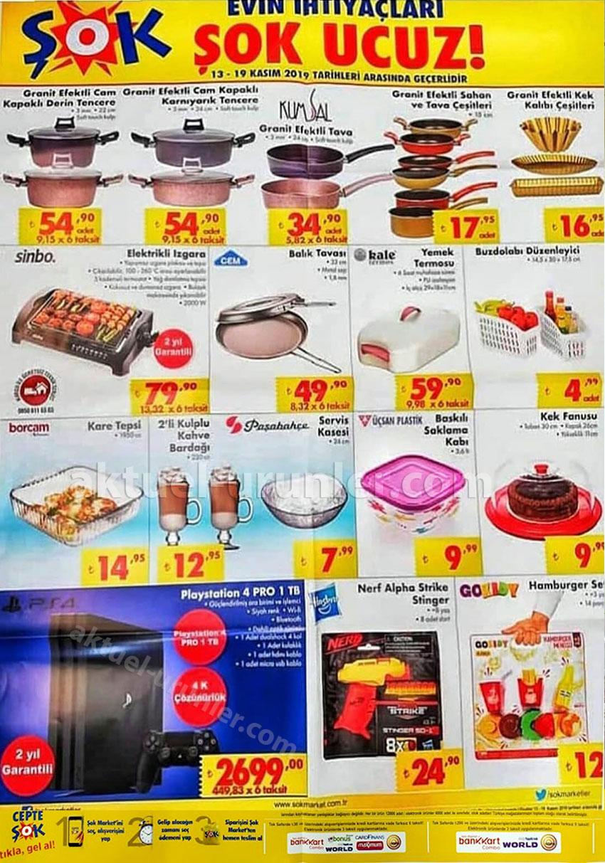 ŞOK İndirimli Mutfak Ürünlerini 13 Kasım'da Sunacak