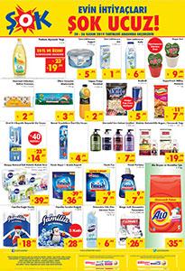 ŞOK 20 Kasım Temel Gıda ve Temizlik Fırsatları