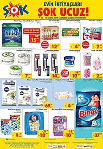 ŞOK Temizlik Ürünleri Büyük Kampanyası 4 Aralık