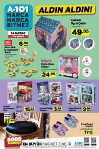 A101 Çocuklara Özel Ürünler 14 Kasım Haftası