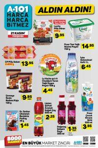 A101 Aktüel Katalogları 21 Kasım Temel Gıda İndirimleri Açıklandı