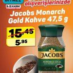 A101 Jocobs Monarch Gold Kahve Fırsatı 9 – 10 Kasım