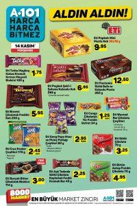 A101 Spot Gıda Ürünleri 14 Kasım Kampanyaları