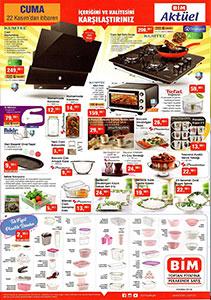 Bim Aktüel Nefes Kesen Mutfak Ürünleri 22 Kasım Detayları