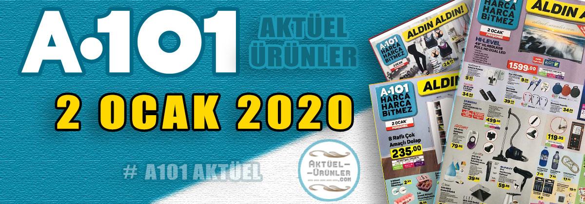 A101 2 OCAK 2020 YAYINDA