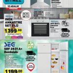 A101 Beyaz Eşya ve Ankastre Ürünleri 12 Aralık Kataloğu