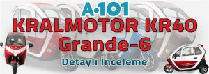 A101 Grande 6 Elektrikli Araba İncelemesi