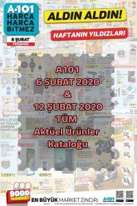 A101 (6 -12 Şubat) 2020 Aktüel Dönem Kataloğu
