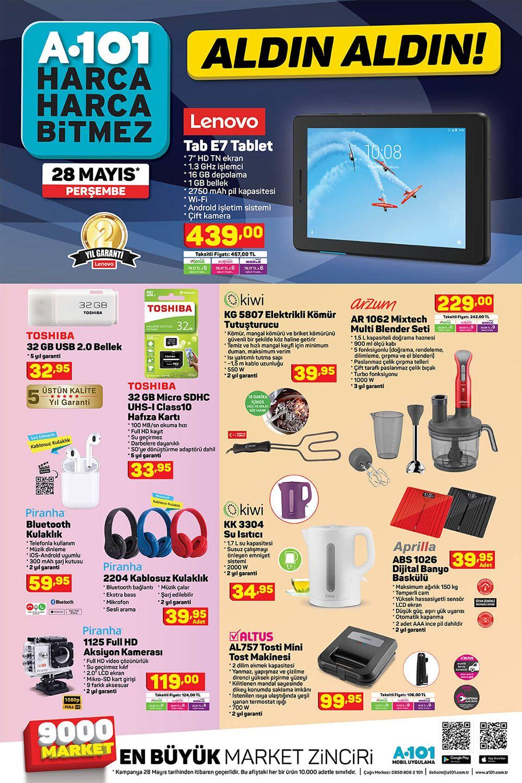 A101-28-MAYIS-2020-Elektronik Urunler-Katalogu-Gorseli