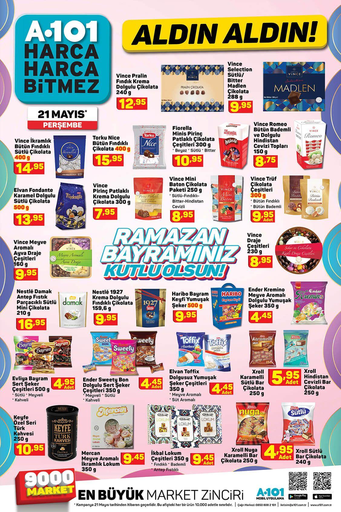A101 Ramazan Bayramı 2020 Aktüel Ürünler Kataloğu