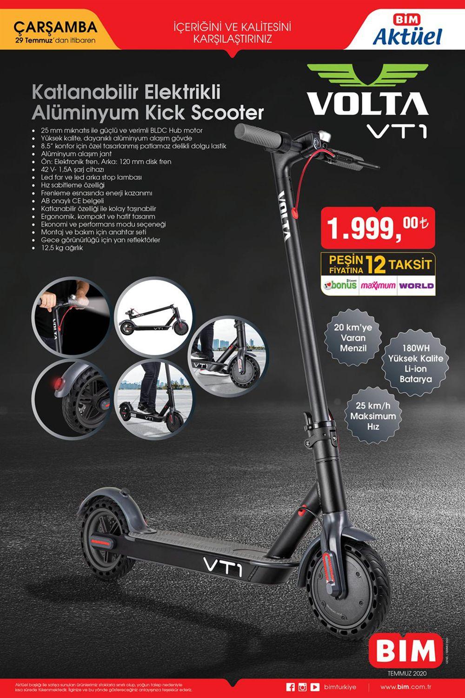 Bim-29-Temmuz-Volta-VT1-Katlanabilir-Aluminyum-Kick-Scooter-Aktuel-katalogu-Rev