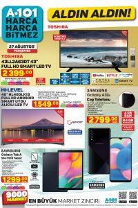 A101 27 Ağustos 2020 Aktüel Ürünler Kataloğu