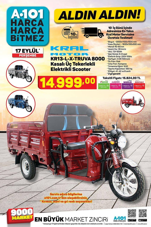 A101-17-Eylul-2020-Kral-Motor-KR13-L-X-TRUVA-8000-KASALI-UC-TEKERLI-SCOOTER