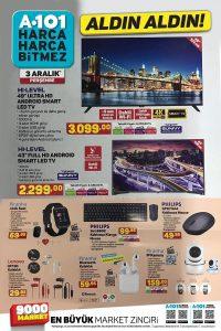 A101 3 Aralık 2020 Aktüel Ürünler Kataloğu