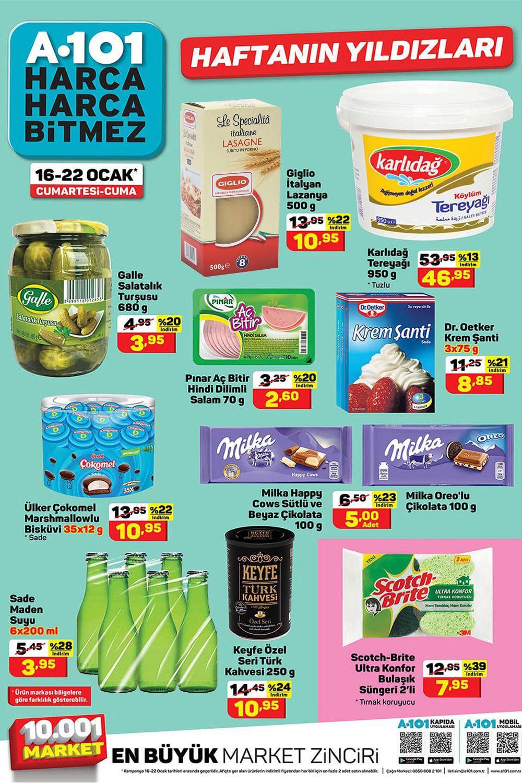 A101 16 Ocak 2021 Aktüel Ürünler Kataloğu Görseli
