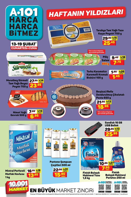 A101 13 Şubat 2021 Aktüel Ürünler Kataloğu Görseli