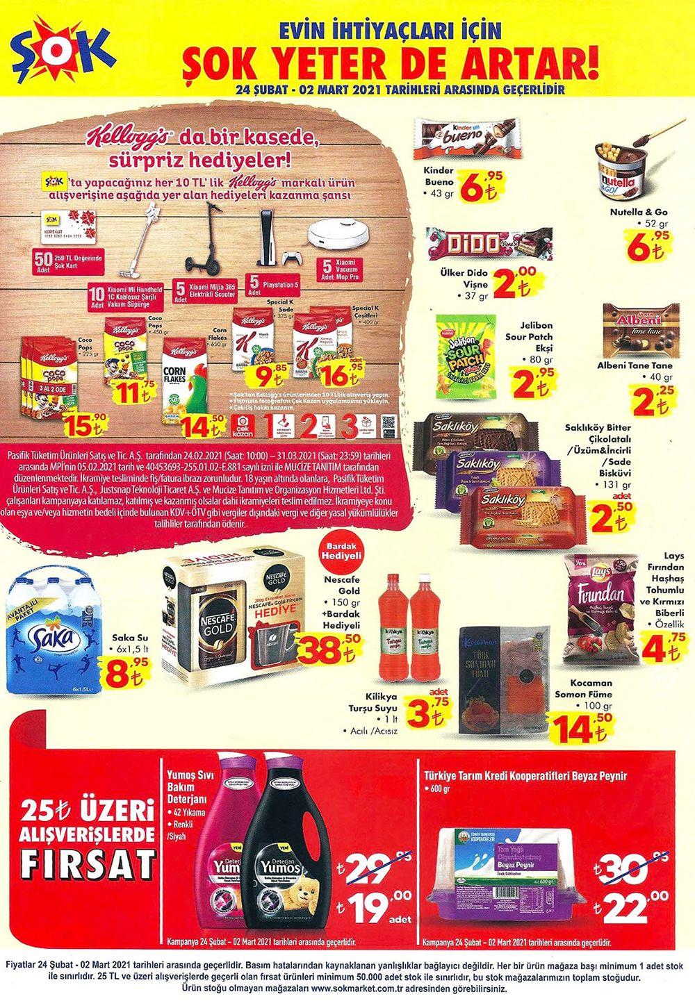 Şok 24 Şubat 2021 kataloğu sayfa 4 gıda ve atıştırmalıklar
