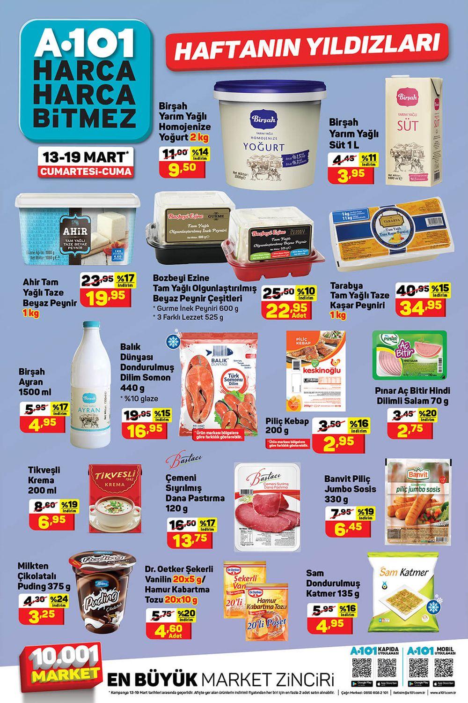 A101 13 Mart 2021 Aktüel Ürünler Kataloğu İkinci Sayfası