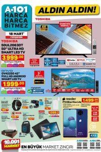 A101 18 Mart 2021 Aktüel Ürünler Kataloğu