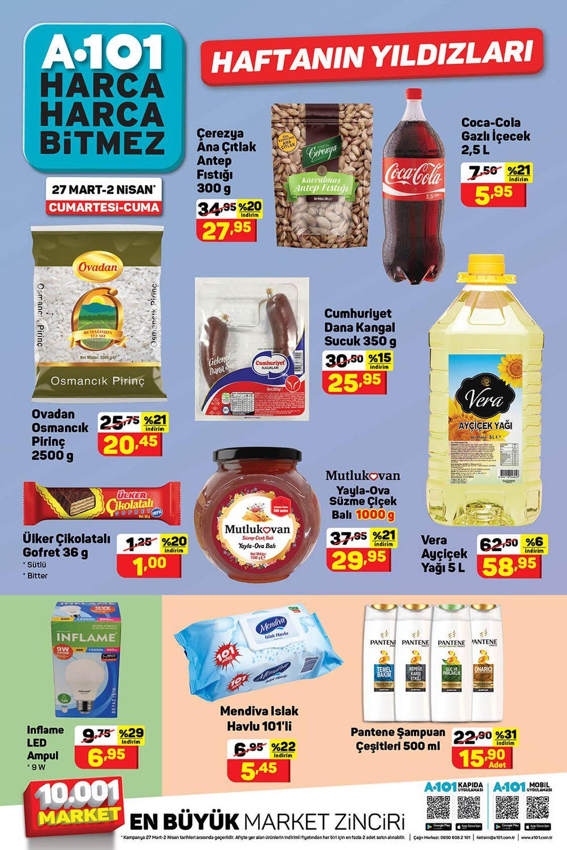 A101 27 Mart 2021 Aktüel Ürünler Kataloğu Görseli İkinci Sayfası