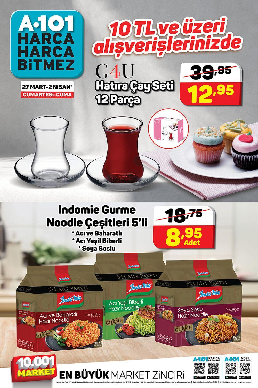 A101 27 Mart 2021 Aktüel Ürünler Kataloğu Görseli Üçüncü Sayfası